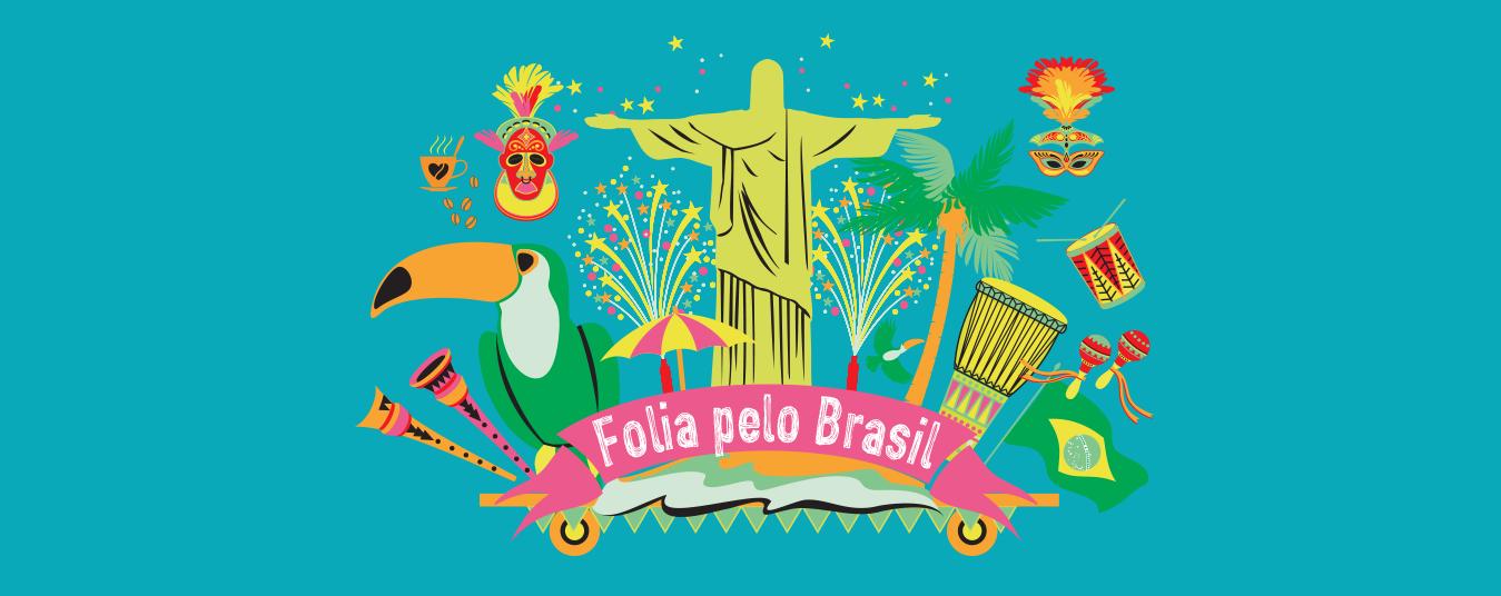 Folia pelo Brasil