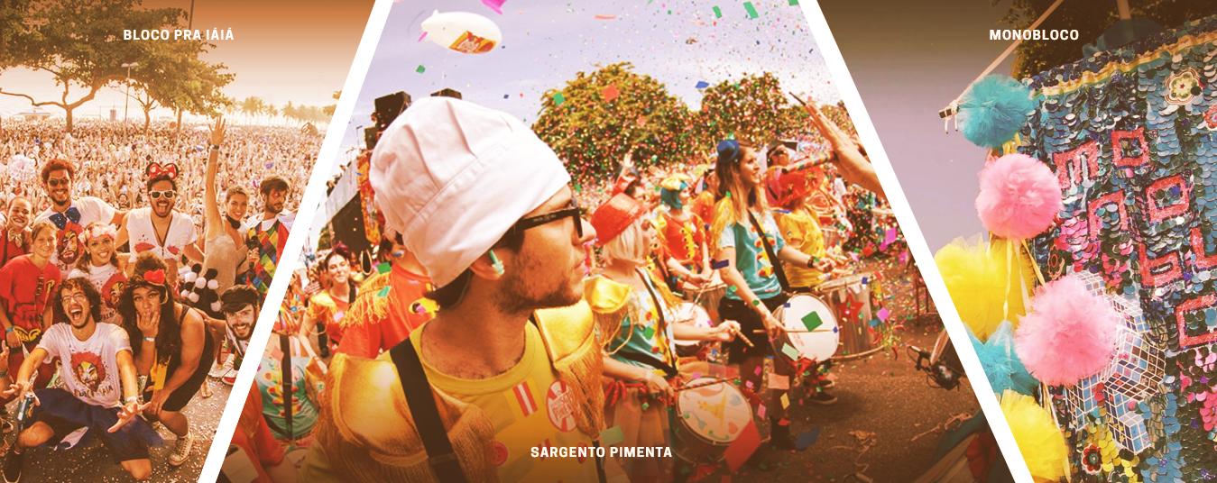 Carnaval pelos cariocas