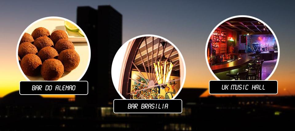 24 horas em Brasília com o Bomde