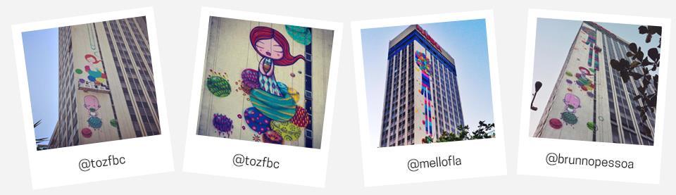 Muita inspiração no Marina Art Wall