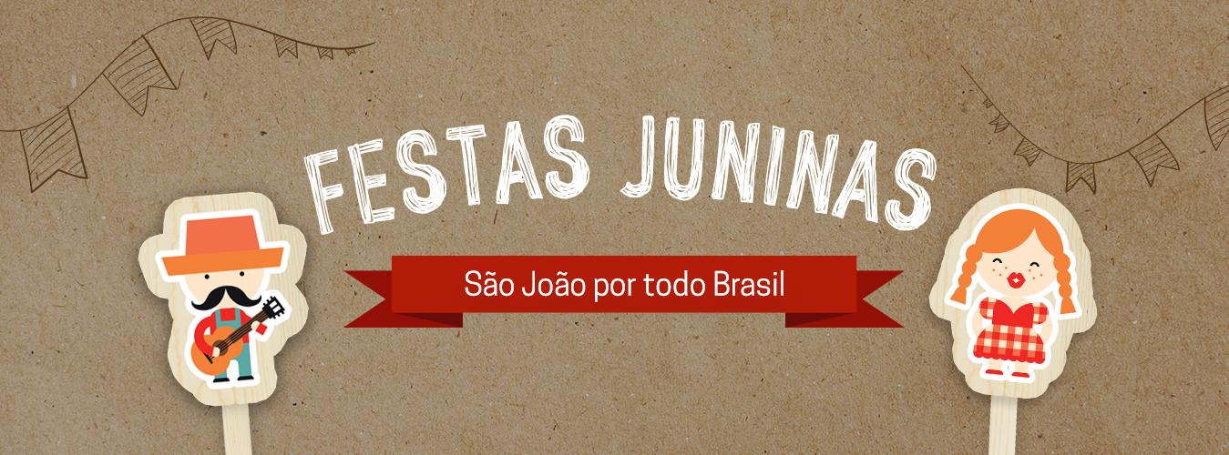 Festas de São João pelo Brasil