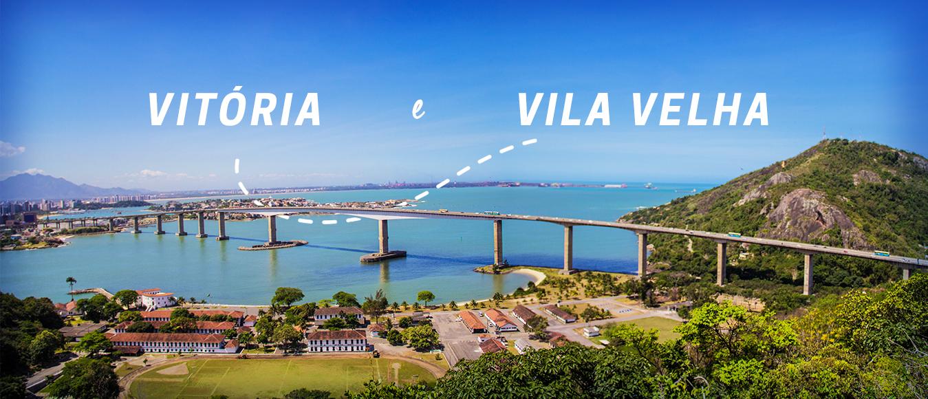 Fim de semana em Vitória e Vila Velha