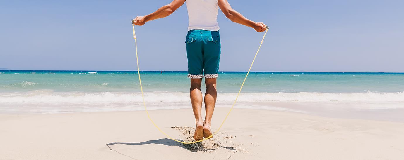 Queime calorias pulando corda