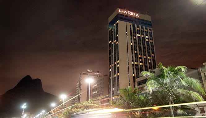Live Painting no Hotel Marina Palace